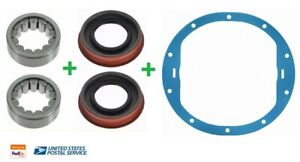 Wheel Bearing & Seal Rear LH & RH PAIR for Chevy GMC Hummer 8.5 8.6 GM AAM Axle