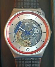 James Bond 007 Swatch Q² Limited Edition No Time to Die SS07Z102 Blue