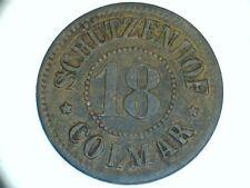 monnaie de nécésité guerre 40-45 , Schutzenhof Colmar - hyper  rare