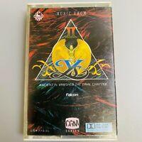 Rare YS 2 PC9800 version Game Music Soundtrack Retro NES Cassette Tape
