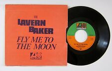Northern Soul - LAVERN BAKER - fly me to the moon - BELGIUM BELGIAN RE PS 45