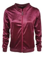 Ladies Bomber Jacket Soft Velours Size L, M , S, XL,  Great Quality , Oxford UK