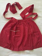 New listing Vintage 1950's Half Apron - Made in Austria