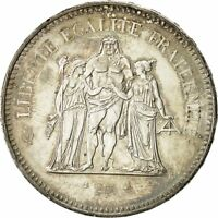 [#491125] France, Hercule, 50 Francs, 1978, Paris, SUP+, Argent, KM 941.1