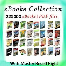 225000 eBooks Package Collection | Pdf Format | With Master Resell Rights