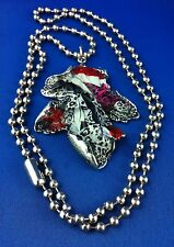 Necklace Wicca Mystical Leaf Tree of Life Tibetan Silver Australia Hand Made WOW
