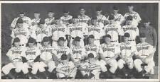 1948 Seattle RAINIERS  Team Photo