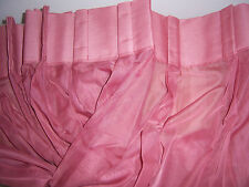 JCPENNEY LISETTE VOILE SHEER PINCH PLEAT PANEL PAIR - 96 x 45 - YUMA ROSE