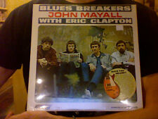 John Mayall Eric Clapton Blues Breakers LP sealed vinyl RE reissue mono Sundazed