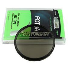 FOTGA 58mm PRO Super Slim Multi-Coated MC CPL Circular Polarizing Lens Filter