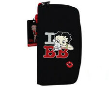 OFFICIAL BETTY BOOP I LOVE BETTY BOOP PUGSLEY LONG WALLET PURSE NEW WITH TAGS