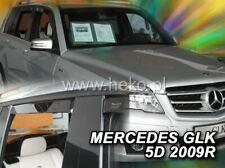 4 Deflettori Aria Antiturbo Mercedes-Benz GLK X204 2008 in poi 5 porte