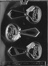 D008 Dad Tie Chocolate Candy Soap Mold with Instructions