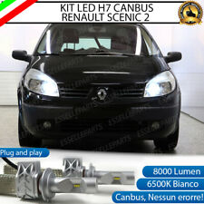 KIT LED H7 CANBUS RENAULT SCENIC 2 CON LED LUXEON ZES 8000 LUMEN 80W 6500K