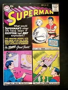 Superman #132 (Oct 1959, DC)