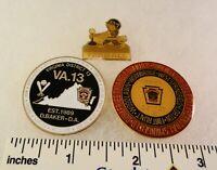 3 Little League Baseball PINs - VA D13 D9 & D7 TeeBall