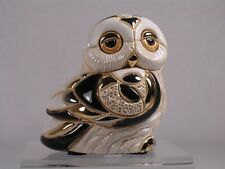 De Rosa Rinconada Family Collection 'Baby Snowy Owl' Figurine - NEW #F335 NIB