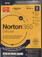 Norton 360 Deluxe for 5 Devices and 12 Months