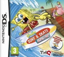 Nintendo DS Spongebob Surf and Skate Roadtrip (ninte VideoGames