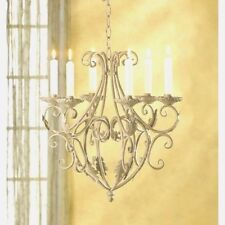 Old World Chandelier Elegant Candle Holder Wedding Hanging Decor