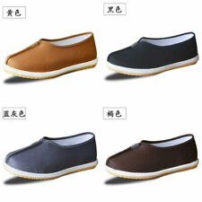 Men's Kung fu Martial Arts Tai Chi Shoes Sole Cotton Cloth Casual Slippers Shoes