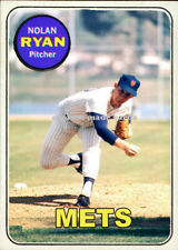 Custom made Topps 1969 New York Mets Nolan Ryan baseball card 2