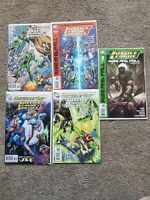 Justice League of America #41, 43, 45, 46 (2010) Rise and Fall Special DC