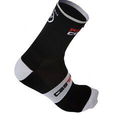 Calze Castelli Rosso Corsa 13 Sock Nero Size L/xl
