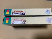 HORI SGB Commander Super GAME BOY SNES SFC Controller 2 Set JAPAN Unused FedEx