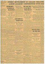 ORIGINAL NEWSPAPER REGULARS CAPTURE 3 IRISH TOWNS JULY 28 1922 B8