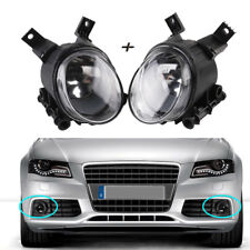 1Pair Front Left & Right Fog Lights Fog Lamps For Audi A4 B7 05-08 A3/S3 11-13