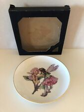 The Sweat Pea Fairy Plate, The Flower Fairies Collection by Frederick Warne