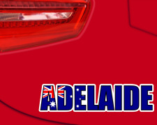 Adelaide Australien Aufkleber Schriftzug Stadtaufkleber Sticker  4 Größen
