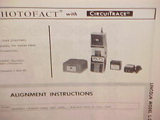 1967 LINCOLN CB RADIO SERVICE SHOP MANUAL MODEL L-2542 (17A0766S)