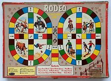 "VINTAGE WHITMAN ""RODEO"" BOARD GAME 1957 OLD WEST"