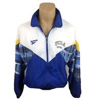 Vintage Reebok Team Issued Medium Softball UCLA Jacket Windbreaker 90s
