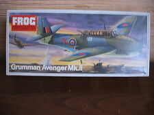 MAQUETTE 1/72 VINTAGE FROG REF F244 GRUMMAN AVENGER MK-II  MILITAIRE AVION
