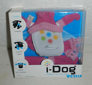 NIP Tiger Electronics Robotic I Dog I-Dog Chill Sweater Set Outfit Clothes Pink