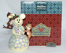 Disney Traditions Jim Shore * WOODLAND WINTER WONDERLAND * Chip and Dale 4016569