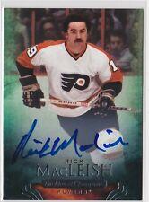 11-12 Parkhurst Champions Rick MacLeish Auto Philadelphia Flyers