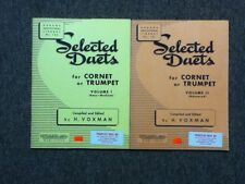 Rubank Selected Duets Cornet-Trumpet Volume I & II