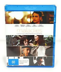 Maladies (Blu Ray, 2012) James Franco New & Sealed Region B Free Postage