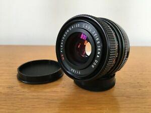 CARL ZEISS JENA DDR MC FLEKTOGON 35mm f/2.4 Prime Lens M42 Fit w Caps EXC OPTICS
