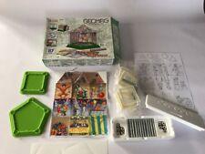 Geomag WORLD CASA MIA Giocattolo Gioco Magnete SWISS MADE 87 PEZZO RARO educativo