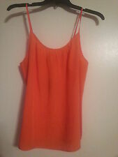 NWT Women's Juicy Couture Silk Cami Tank Size Large Tiki Torch Beautiful