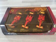 Coffret Hotwheels F1 3 Voitures Schumacher 1/43 Champion du Monde