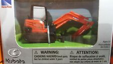 Kubota: 1:64 Kubota KX040 Mini Excavator Toy Model # 77700-07904