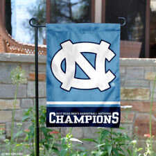 UNC Tar Heels Basketball National Champs Garden Flag and Yard Banner