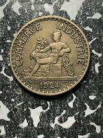 1924 France 1 Franc (3 Available!) Circulated (1 Coin Only)