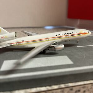 Aero500 500 scale diecast model National Airline DC-10 Commercial Airliner N81NA